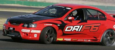 D1GP Drifting Videos - Ford FPV F6